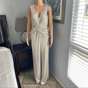 *NEW* Gorgeous ADRIANNA PAPELL Wrapped Jumpsuit